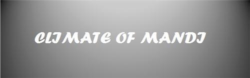 Mandi Climate