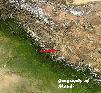 Mandi Geography