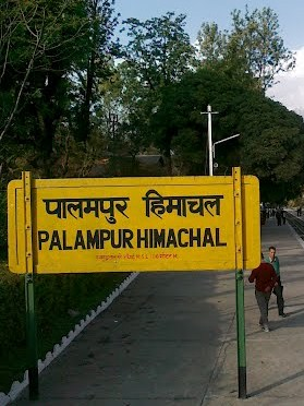 Distances from Palampur
