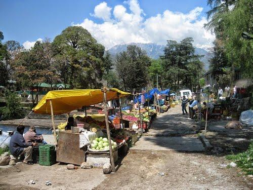 Local Market Place in Palampur