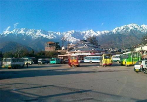 Local Bus Stand in Palampur