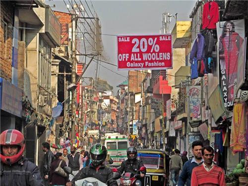 Palampur Bazaar and Market Areas