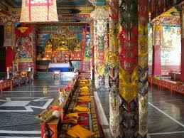 Religious palces of the Buddhists in Palampur