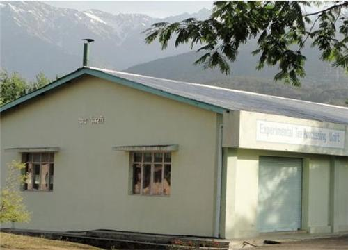 The Experimental Tea Processing Unit in Palampur