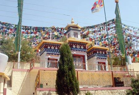 Temple at Dharamsala