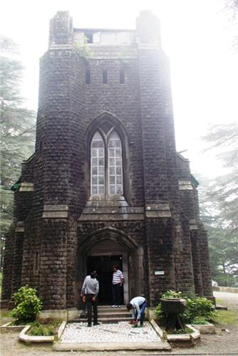 Church at Dharamsala