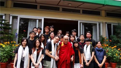 Tibetans at Dharamsala