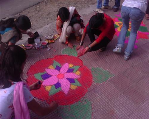Diwali at Dharamsala