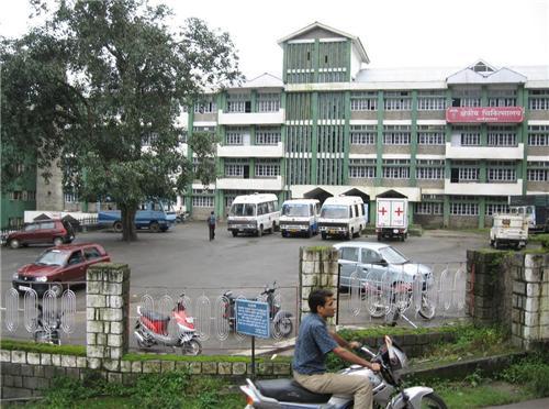 Hospital at Dharamsala
