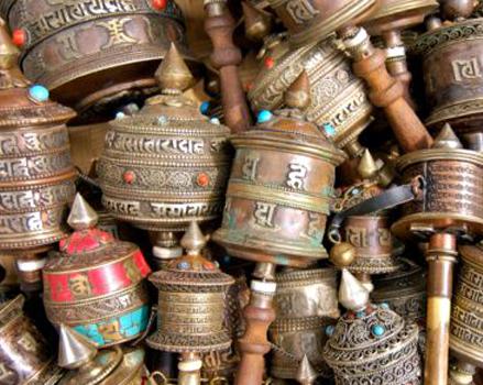 shopping at Dharamsala