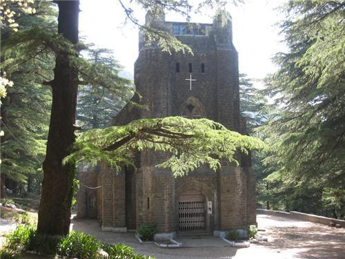 Church at Dharamsala