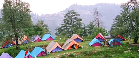 Tents for Rest at Dharamsala