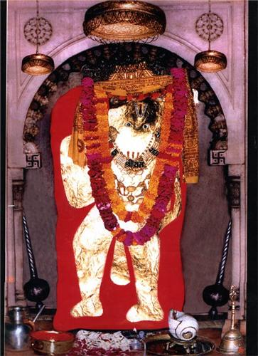 Idol of Lord Balaji