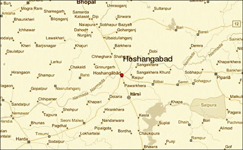 Localities in Hoshangabad