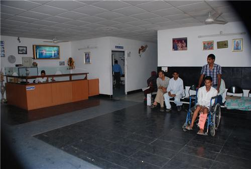 Reception Area of Bharaj Hospital Hoshiarpur