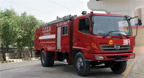 Fire Brigade emergency services in Hoshairpur