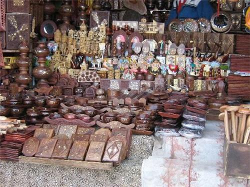 Handicrafts at Hoshiarpur