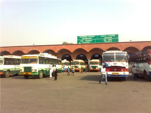 Bus Stand in Hoshiarpur