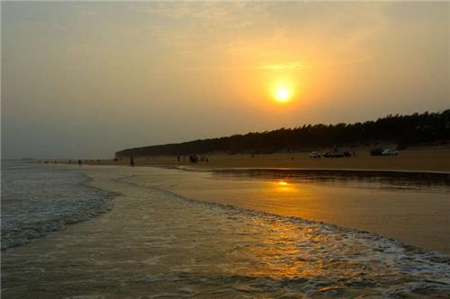 The Shankarpur Beach near Digha