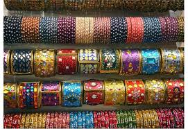 Beautiful Bangles in Bangle Market