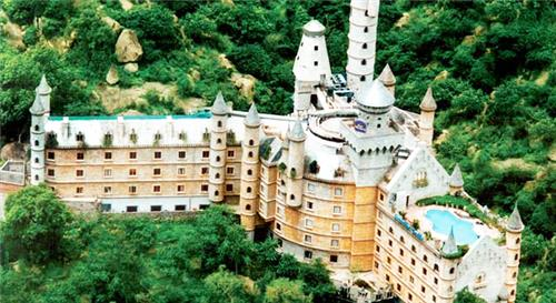 Panoramic View of Hotel Amrutha Castle in Hyderabad