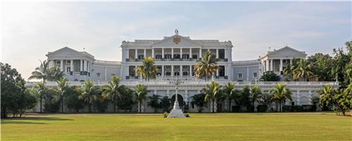 Grand Location of Falaknuma Palace Hotel in Hyderabad