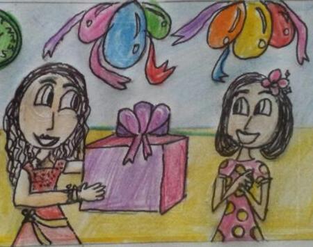 Gift in Ramzan
