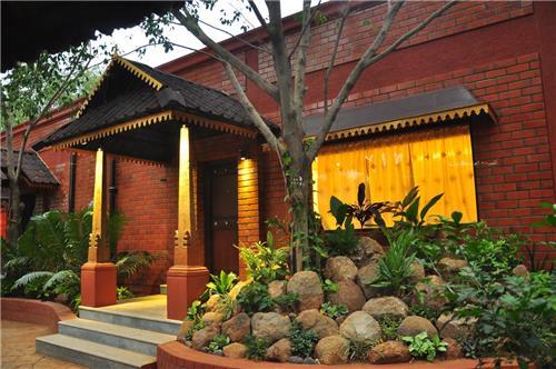 Tranquil Location of Alankrita Spa Resort in Hyderabad