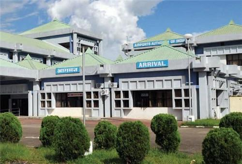 Airport in Imphal