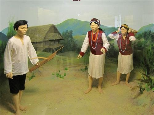 Lisu people Exhibit in Jawaharlal Nehru Museum