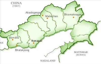 Geography of Itanagar