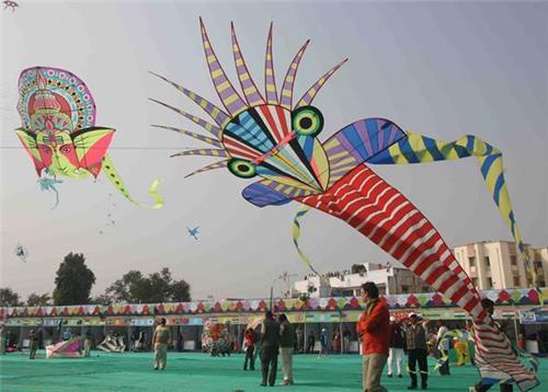 Kite Fest in Jaipur