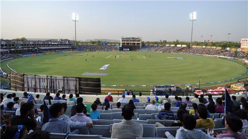 Sawai Mansingh Stadium in Jaipur
