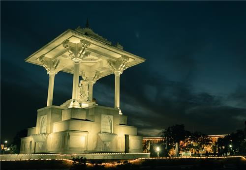 Statue Circle in Jaipur