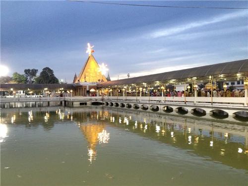 Beautiful Evening View of Devi Talab Mandir in Jalandhar