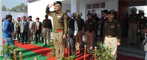 Police as an important component of administration in Jalandhar