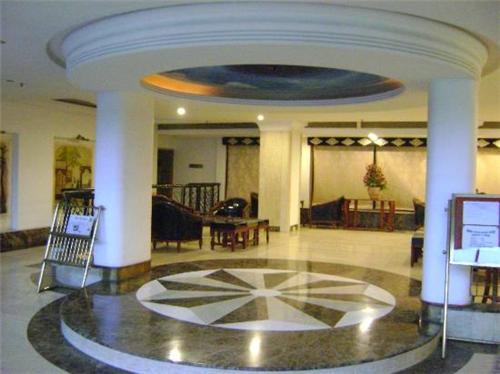 The beautiful interiors of Leo Fort Hotel in Jalandhar