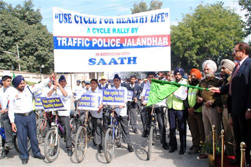 Traffic Police in Jalandhar
