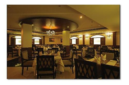 Dining Restaurant at Ramada Hotel in the city of Jalandhar