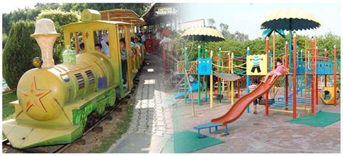 Rides at Wonderland Amusement Park in Jalandhar