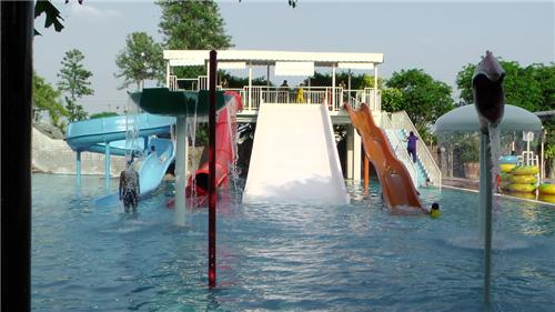 Rides at Water Park in Wonderland Amusement Park Jalandhar