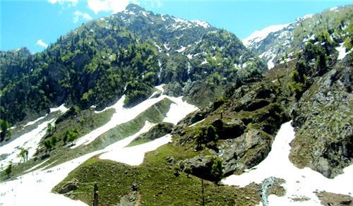 Kolahoi Glaciers in Pahalgam