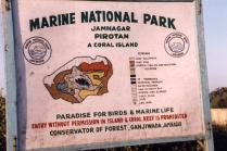 Pirotan Island in Jamnanagr
