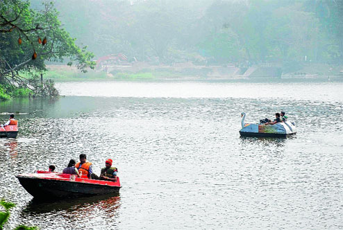 Famous lakes in Jamshedpur