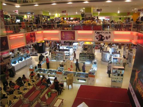 Shopping avenues in Jamshedpur