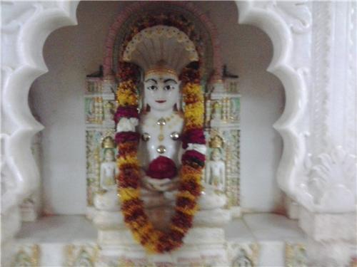 Jain temple in Jhunjhunu