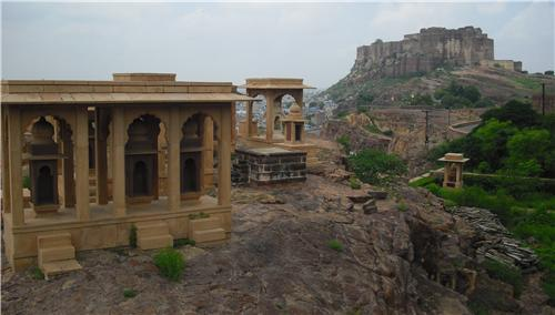 Chamundaji Mataji Temple of Jodhpur-Credit Google