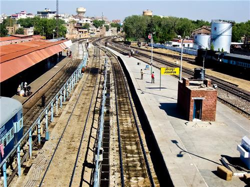 Train services between Jodhpur and important cities of India