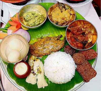 Food in Kalyani