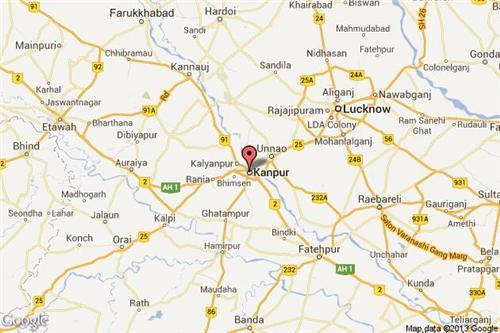 Towns Near Kanpur Kalyanpur Near Kanpur Rooma Near Kanpur